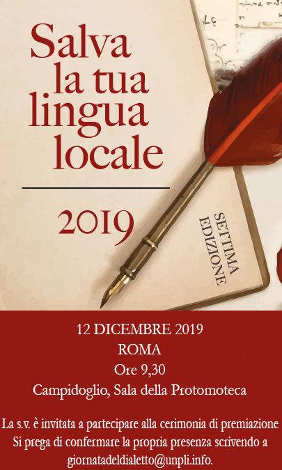 Salva la tua lingua locale 2019: I finalisti della settima edizione