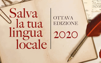 Salva la tua lingua locale: il Bando 2020 – Ottava edizione