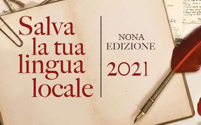 Salva la tua lingua locale: il Bando 2021 – Nona edizione